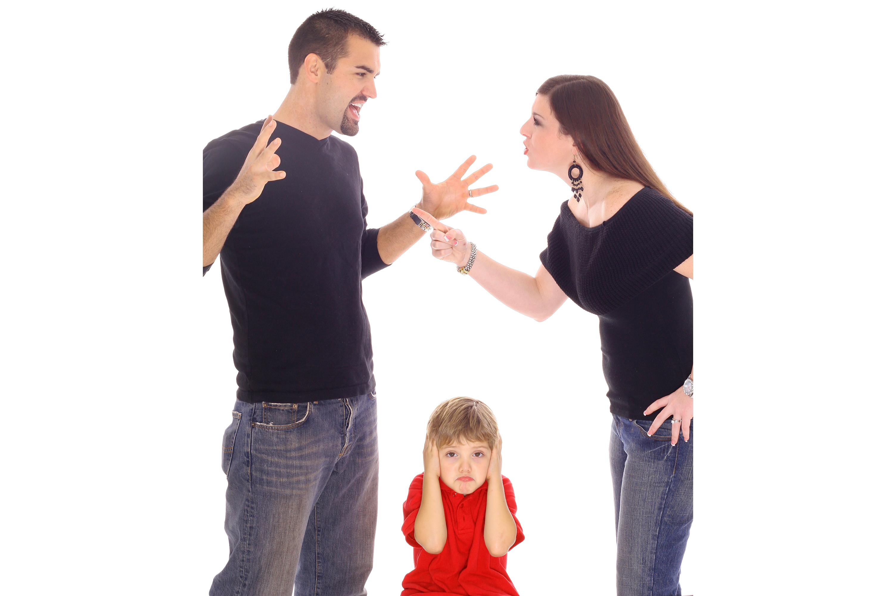 как дети переносят развод родителей взглянул робота